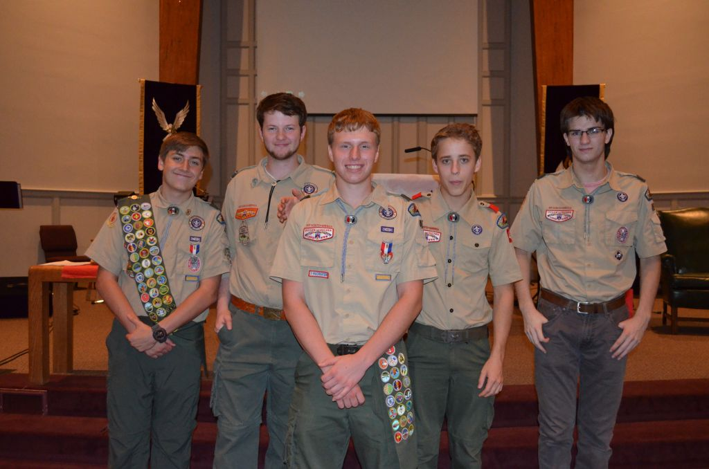 Troop 45 Eagle Scouts